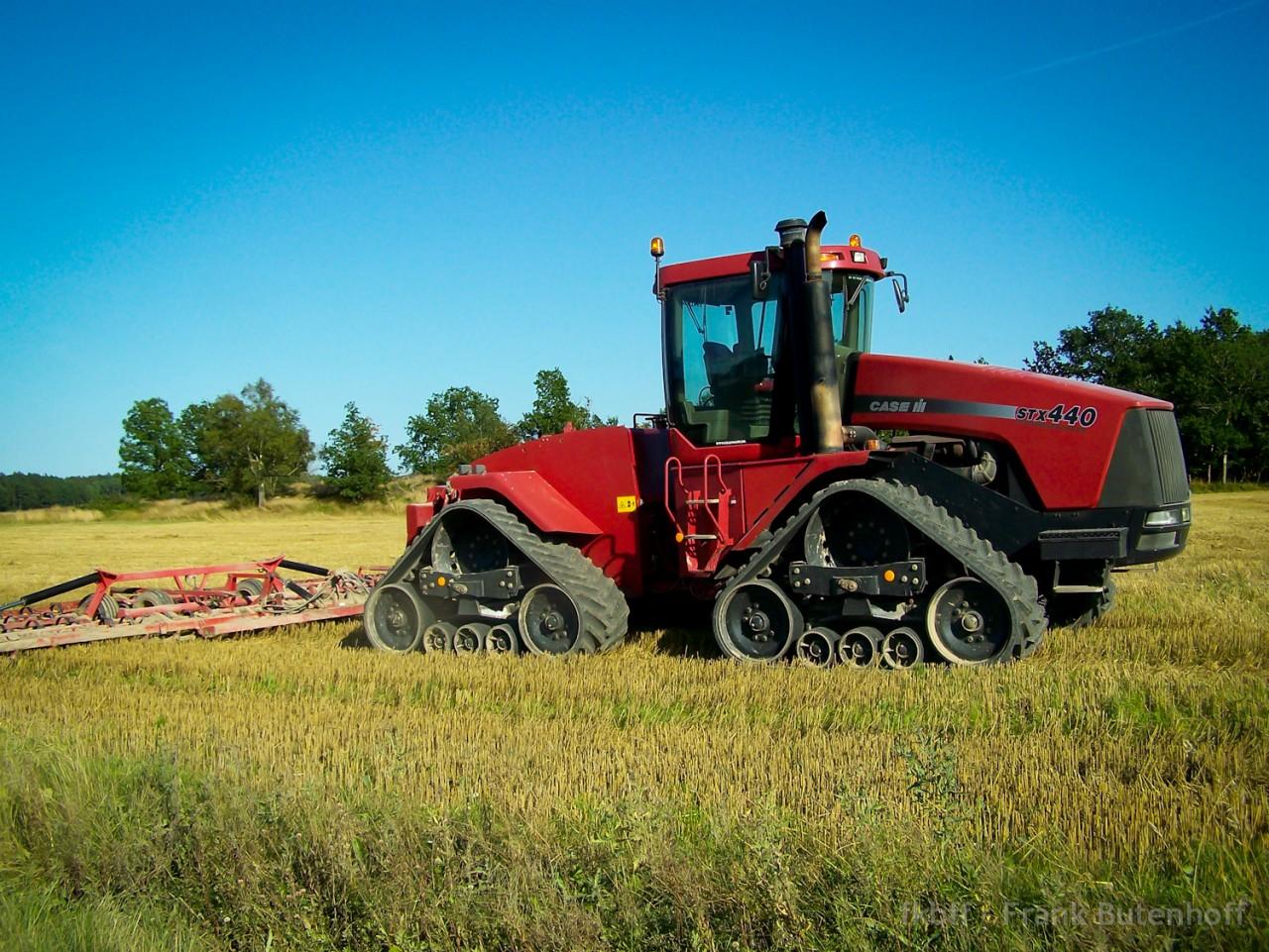 Ein Traktor aus Schweden