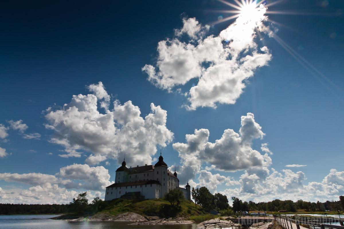 Schloß Läckö bei Lidköping in Schweden