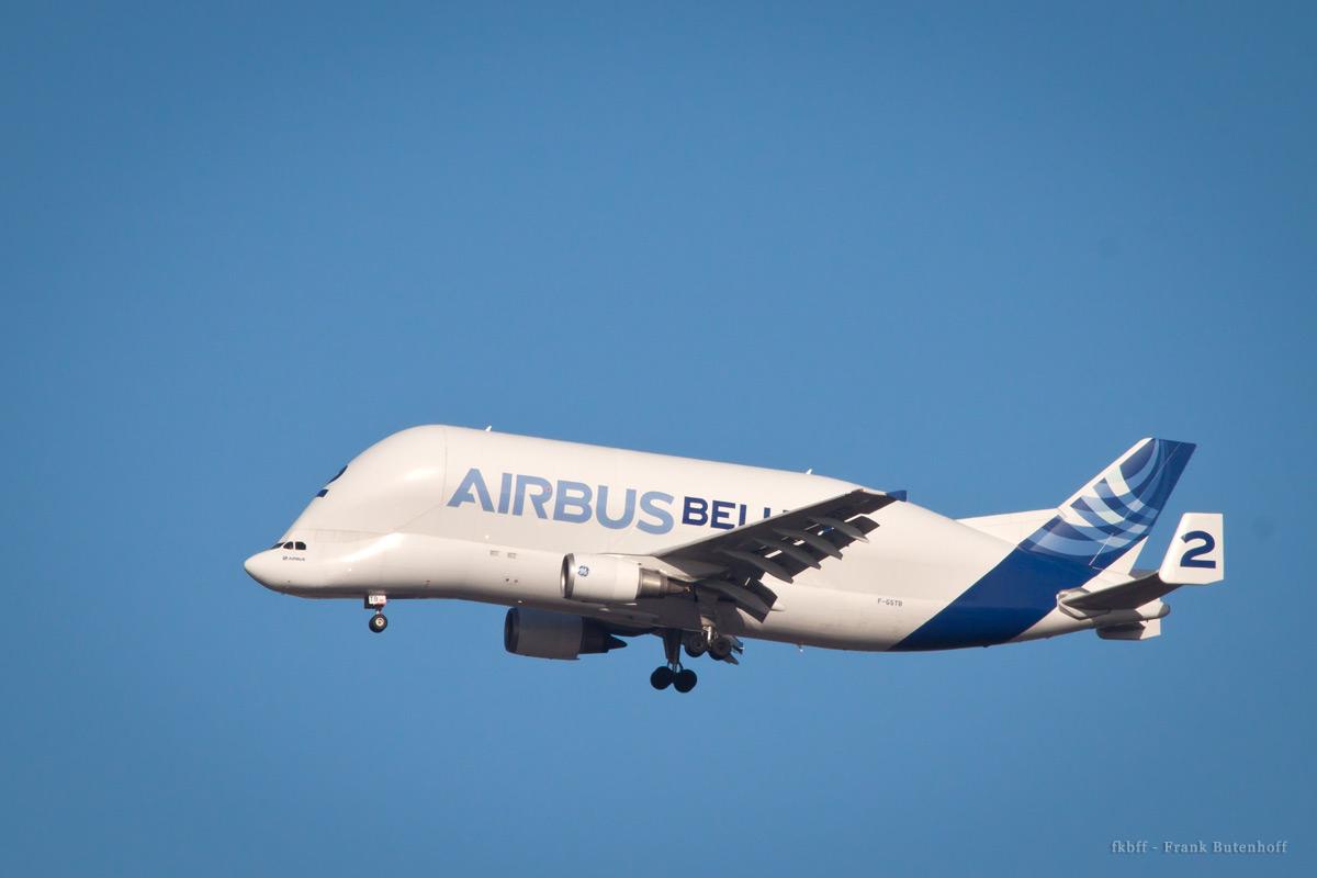 Die Beluga 2 aus der Airbus-Flotte