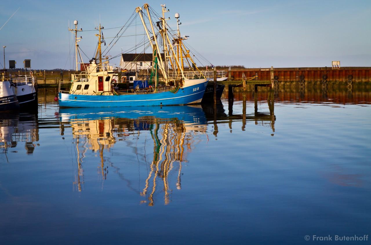 Der Hafen von Havneby