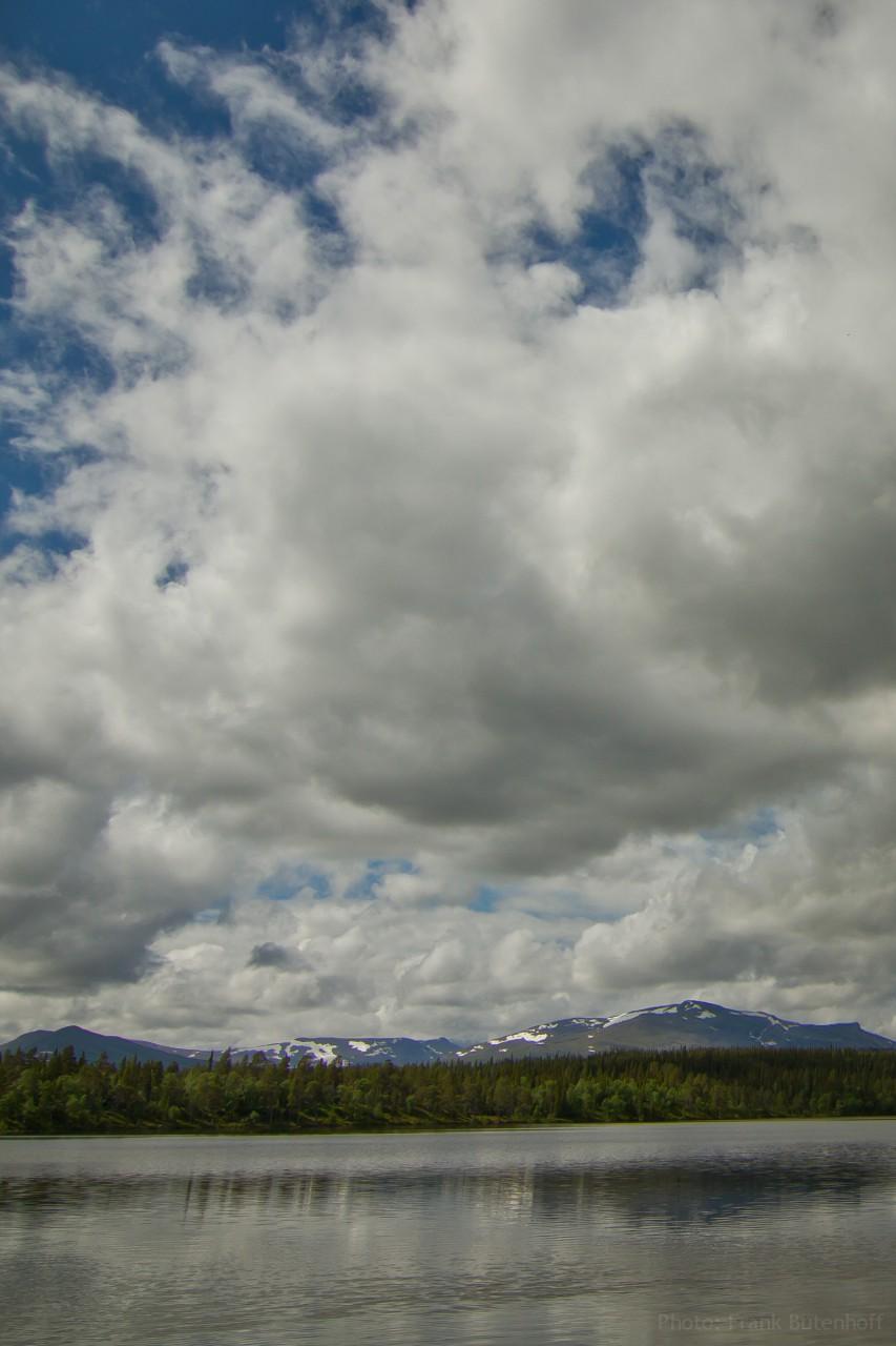 Bergregion bei Åre